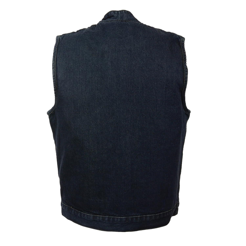 Milwaukee Performance Mens Denim Club Style Vest Black, Medium