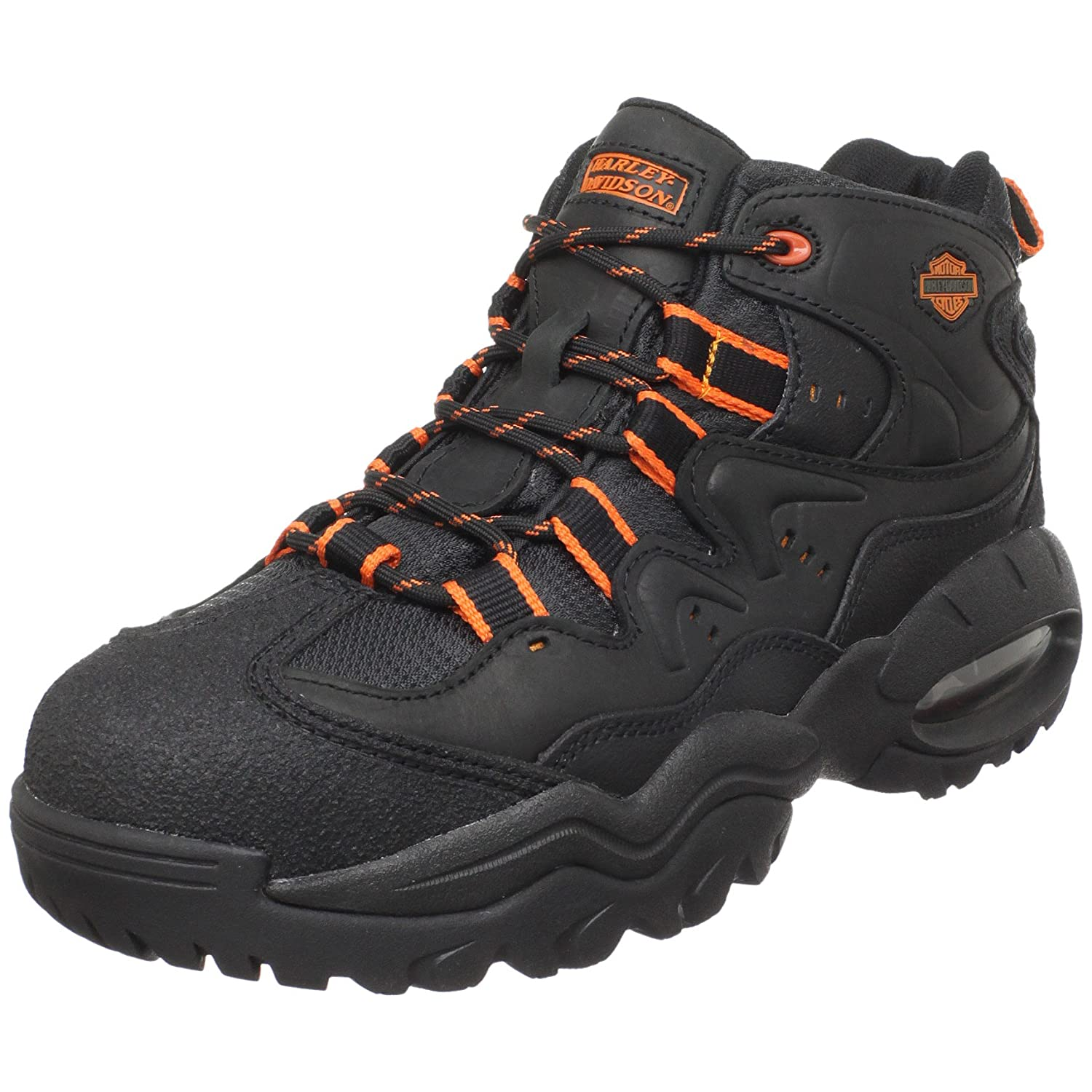 Amazon.com | Harley-Davidson Men's Crossroads II Steel Toe Hiking Boot |  Hiking Boots