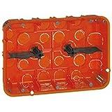 boite, multimateriaux, batibox, grand, format, 2x3, postes, 2x6, 8, mod, prof, 50, legrand, leg080126