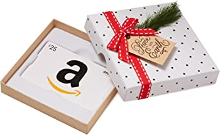 Gift Card in a Holiday Sprig Box