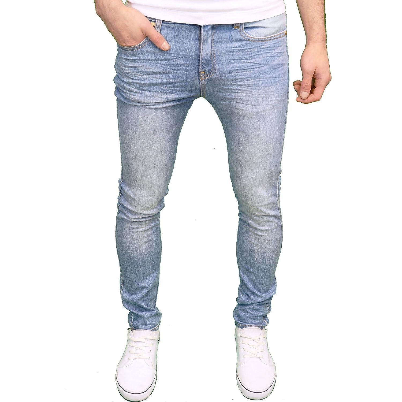 TALLA 36W / 34L. 526Jeanswear–Pantalones vaqueros skinny fit para hombre, disponibles en 4colores