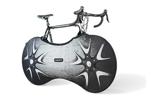 Funda cubre bicicletas para interiores – SILVERBIRD PRO EDITION con prácticos broches de presión – La