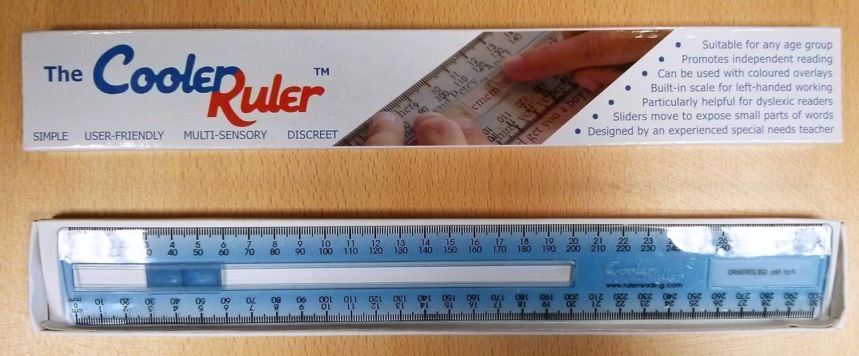 Cooler reading ruler