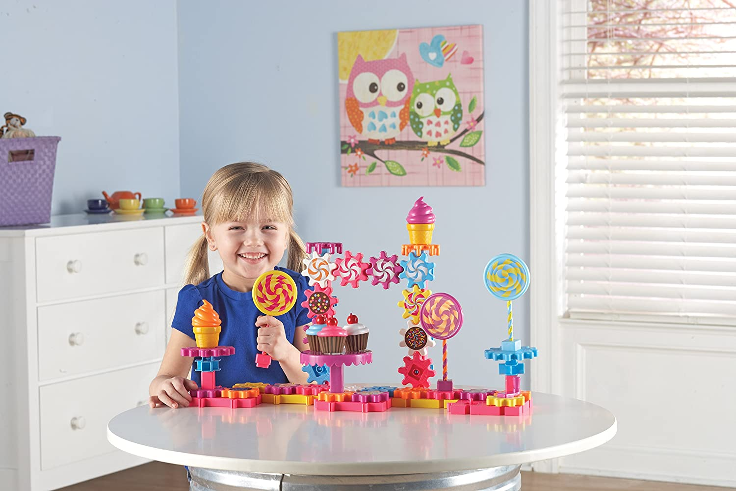 Invite endless creations with this 82-piece set