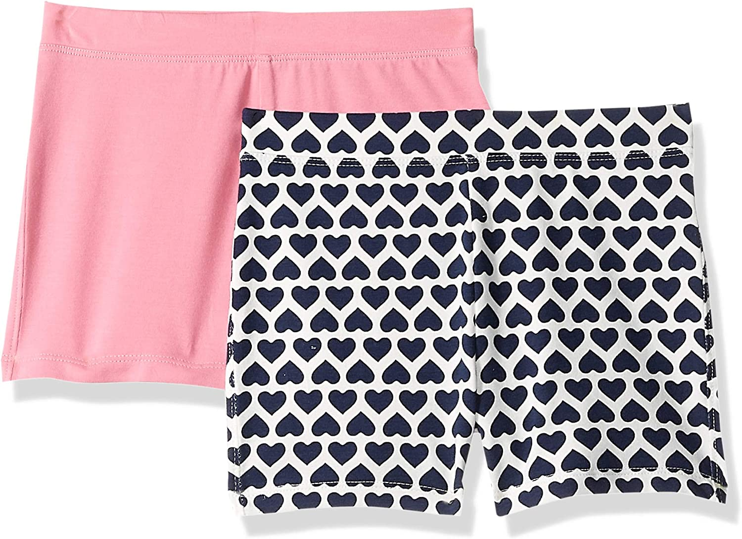 Crew Brand LOOK by crewcuts Girls 2-Pack Cycle Short // J