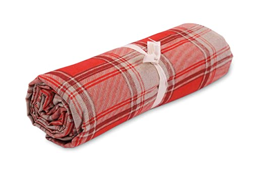 HomeLife - Tela decorativa para sofá escocés - Sábana bajera ...