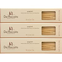 Dal Raccolto Bronze Die Cut Pasta, Spaghetti, 1 lb (Pack of 3)
