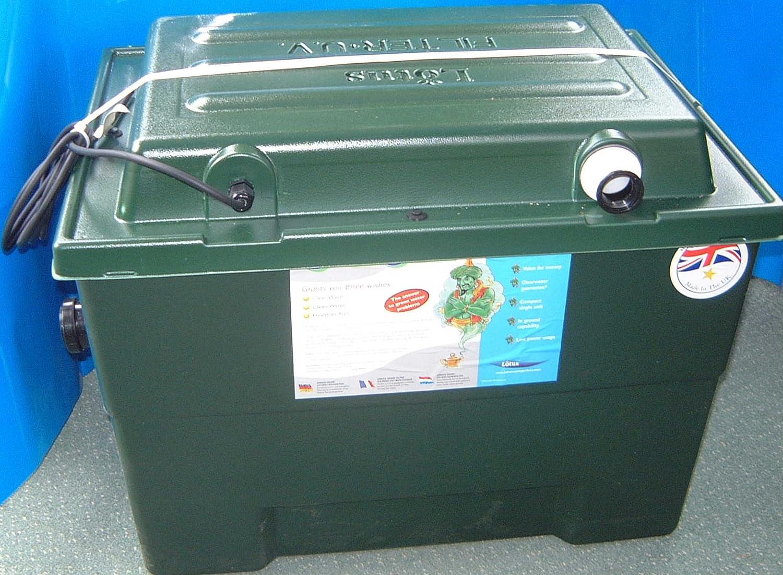 LOTUS OASIS GREEN GENIE 24000 UV FILTER 25W WATER CLARIFIER POND FISH KOI GARDEN