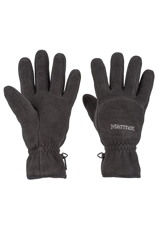 Men Marmot Fleece Gloves Fast-Drying /& Warm