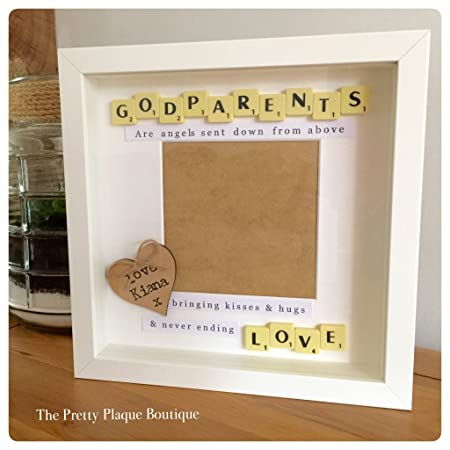 Personalised Photo Frame Scrabble Letters Family Friends Wedding ...