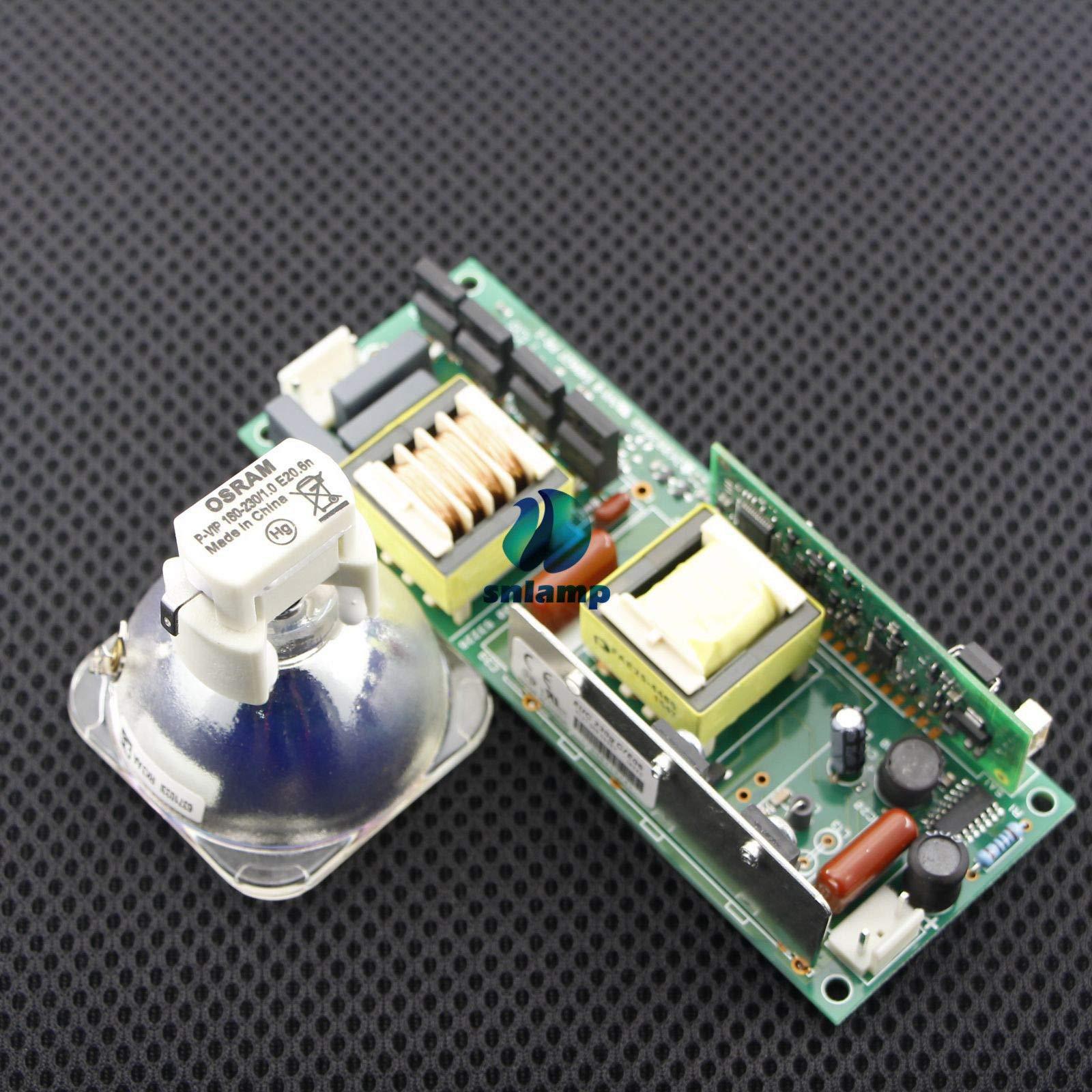 FidgetFidget 7R 230W Beam Light Bulb with Ballast Power Supply for R7 MSD Stage Lighting Lamp