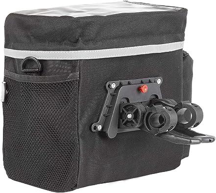 M-Wave 122385 - Bolsa Manillar con portamapas, 25.80 mm: Amazon.es ...