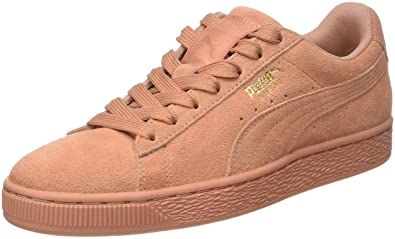 promo code d2bfd 31e68 Amazon.com | PUMA Suede Classic Tonal Trainers, Muted Clay ...