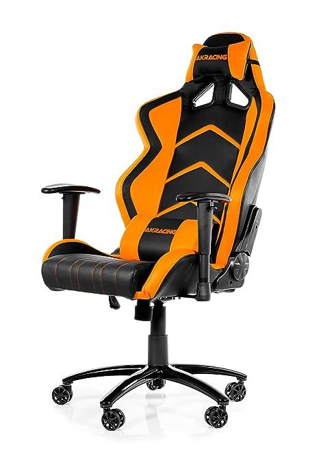 AKRACING Racing Estilo escritorio silla de oficina gaming con respaldo alto reclinable, giro inclinación,