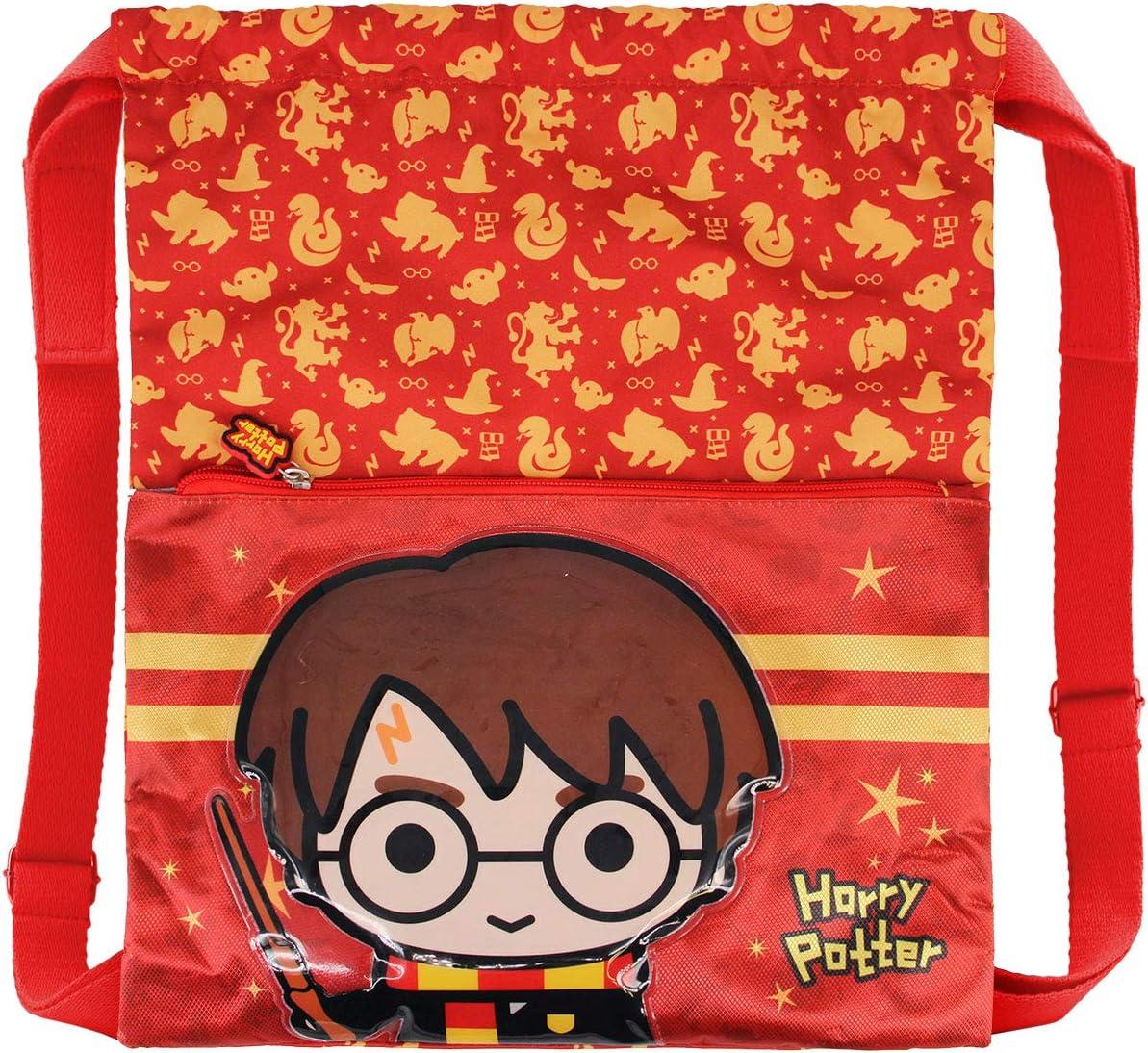Karactermania Harry Potter Wand Saco de Cuerdas Strap Multicolor