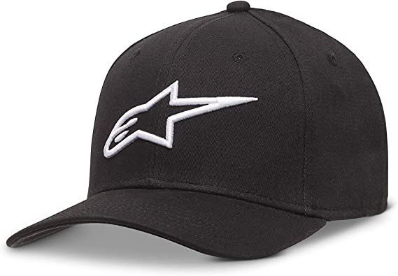 Alpinestars Ageless Curve Mens Headwear Cap Black White All Sizes