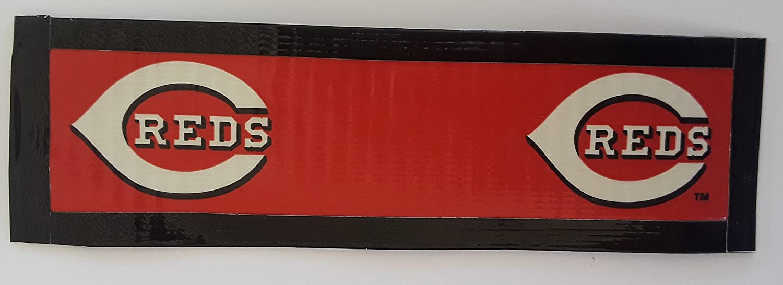 Cincinnati Reds MLB Baseball Duct Tape Book Mark