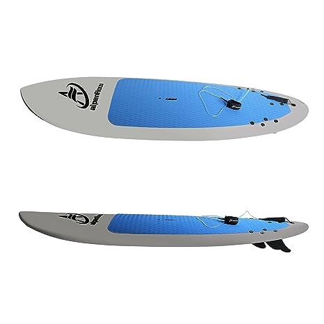 alpenflow - Tabla de pádel de Yoga con Aletas de Tabla de Surf y Correa de