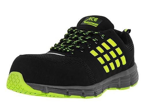 d243de96 ACE Neon Zapatos Especiales para el Trabajo con Puntera - S1 P: Amazon.es:  Zapatos y complementos