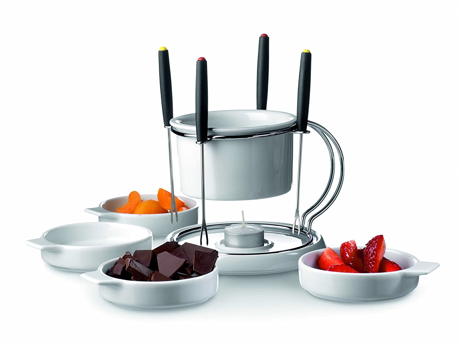 Domestic 11-Piece Chocolate Fondue Set Josef Mäser GmbH 921396