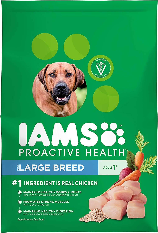 1. Iams Large Breed Dog Food