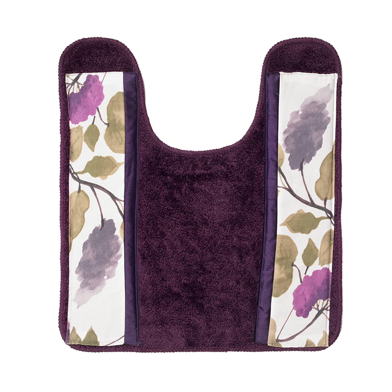 Amazon.com: Popular Bath Jasmine 3 Piece Towel Set, Plum: Home U0026 Kitchen