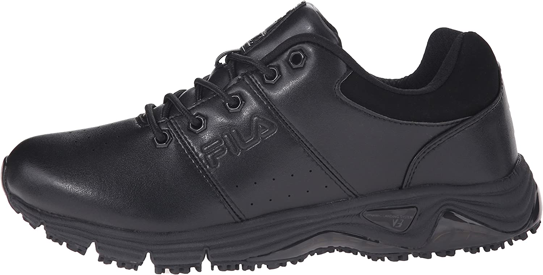 Fila Mens Memory Breach Sr Low Slip Resistant Work Shoe