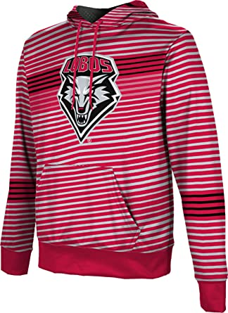 ProSphere University of New Mexico Mens Pullover Hoodie Heathered School Spirit Sweatshirt