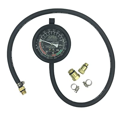 Kweiny Exhaust Back Pressure Tester for Automotive Catalytic Converter Clog Test Gauge: Automotive