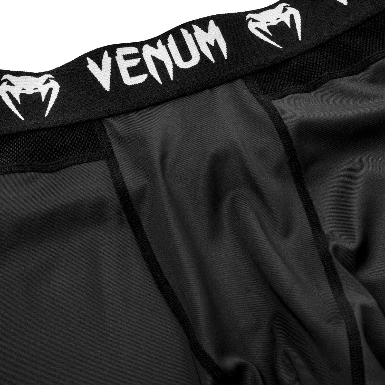 Black Venum No-Gi 2.0 MMA Compression Spats