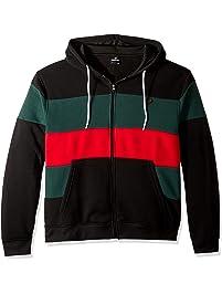 8b8026427 Southpole Mens Fleece Zip Sweater Hooded Sweatshirt
