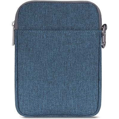 MoKo 6-Pulgadas Funda de Fieltro - Portátil Sleeve Bag Nilón Maletín Case para Amazon Kindle 10th Generation 2019 / All-New Kindle (8th Generation, 2016) / 6 Inch Kindle Oasis E-Reader, Azul Denim