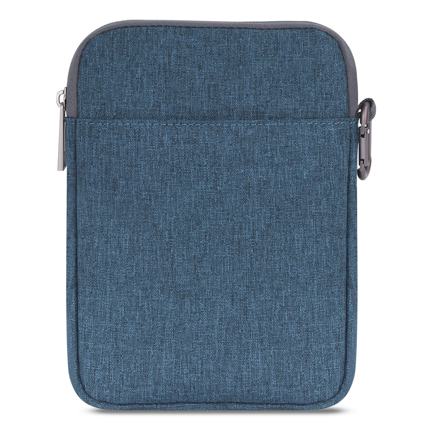 MoKo Sleeve for Kindle Paperwhite/Kindle Voyage, 6-Inch Nylon Cover Pouch Bag for  Kindle Paperwhite/Voyage / All-New Kindle(8th Generation, 2016) / Kindle Oasis E-Reader, Denim Blue A 78233376