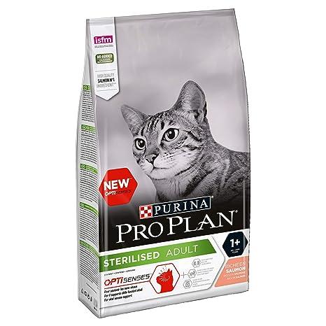 Purina ProPlan pienso para Gato Esterilizado Salmon 6 x 1,5 Kg