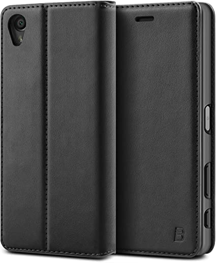 Sony Xperia X Case - BEZ® Protective PU Leather Wallet Flip Cover ...