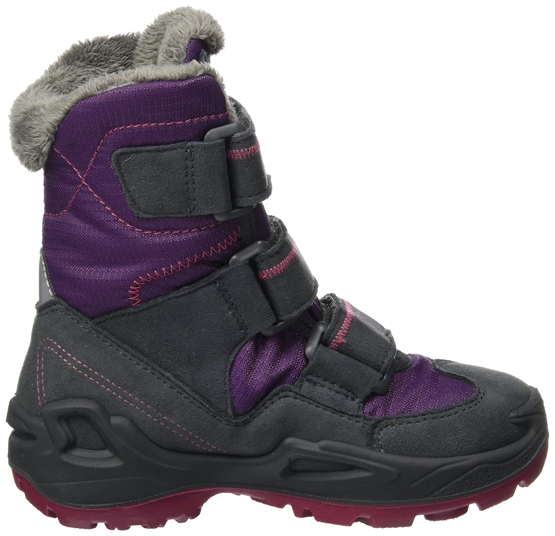 Lowa Unisex-Kinder Milo GTX Hi Trekking-& Wanderhalbschuhe, Violett (Prune/Berry), 33 EU