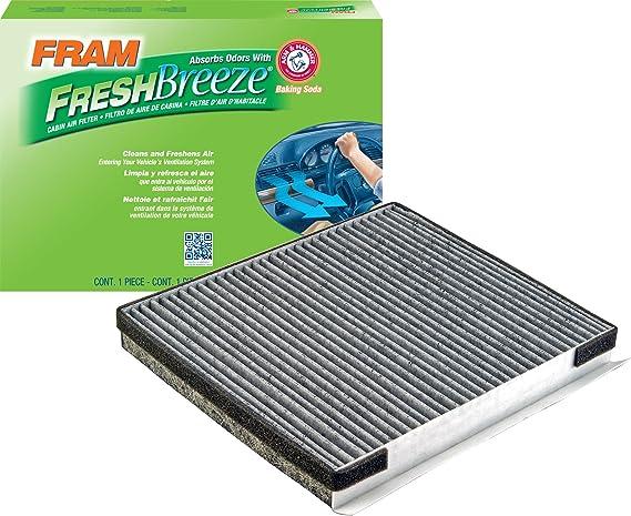 FRAM CF10735 Fresh Breeze Cabin Air Filter with Arm & Hammer