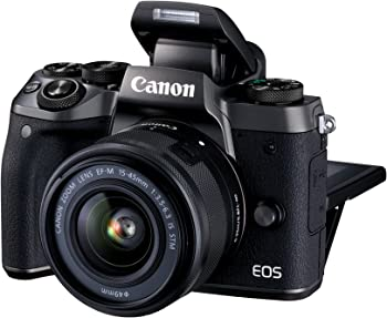 Canon EOS M5 24.2MP Mirrorless Digital Camera with 15-45mm Lens