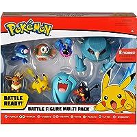 Bandai 80299 Pack de 8 figurines Pokémon