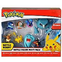 Bandai Pack de 8 Figurines Pokémon, 80299