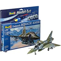 Revell - 64893 - Maquette Model Set - Dassault Aviation Mirage 2000 D - Echelle 1/72
