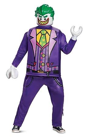 FANCY DRESS COSTUME ~ DLX DARK KNIGHT THE JOKER STD