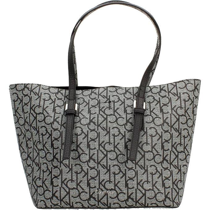 Hombro Bolsos Calvin MujerColor Shoppers Para De NegroMarca Y jAL543R