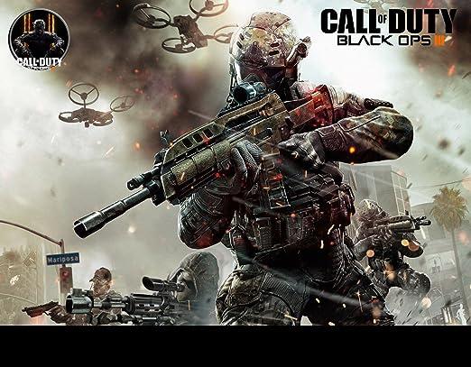 Call Of Duty Black Ops III comestible decoración para tarta para o Cupcake Toppers – Call Of Duty cumpleaños Decoration- Black Ops (8