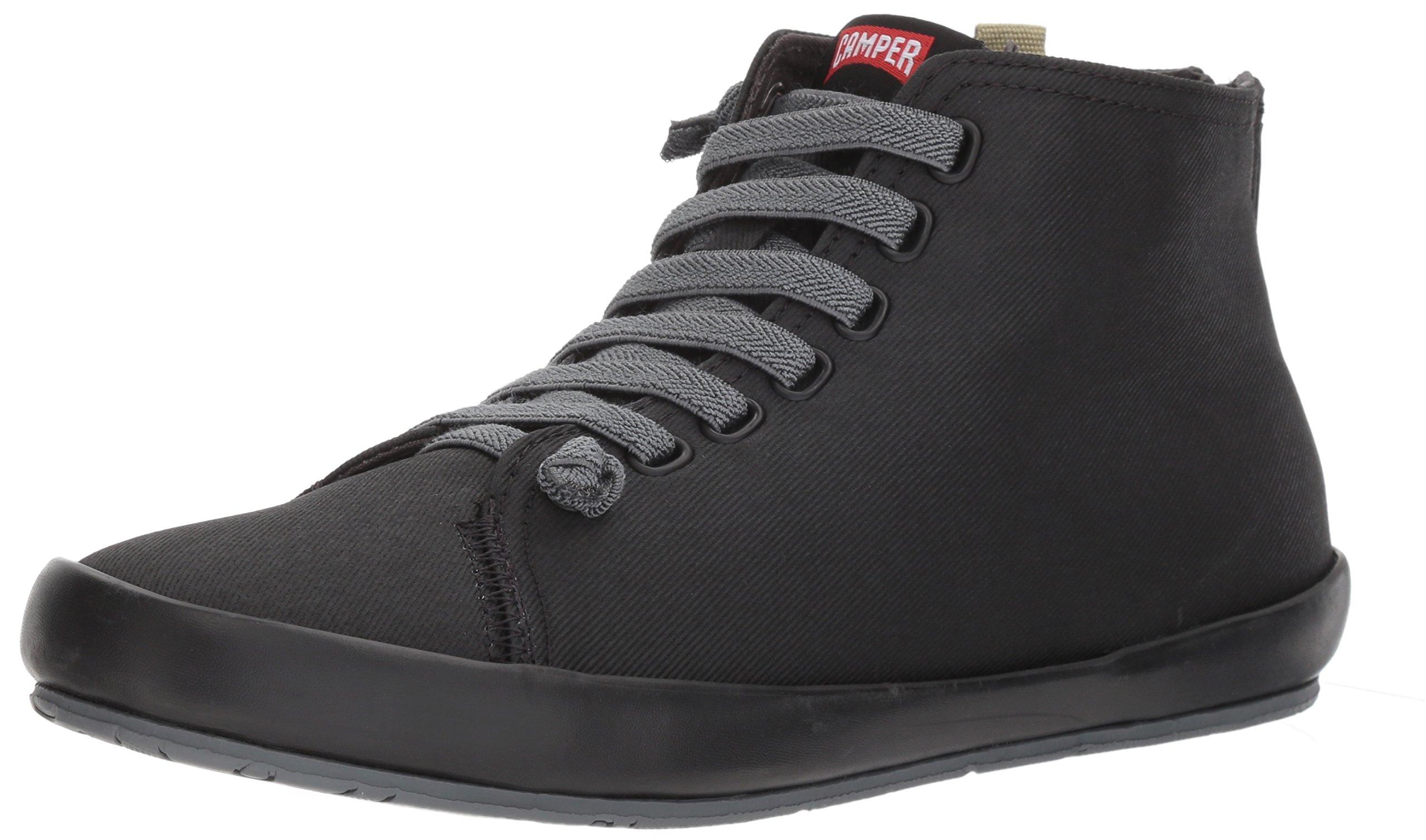 Camper Women's Borne K400163 Fashion Sneaker, Black, 38 EU/8 M US