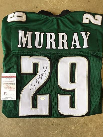 Demarco Murray #29 Philadelphia Eagles Auto Signed Jersey JSA COA ...