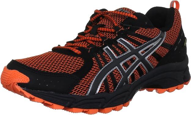 ASICS Gel-Trail Lahar 4 G-TX Zapatilla de Trail Running Caballero, Naranja/Negro, 41.5: Amazon.es: Zapatos y complementos