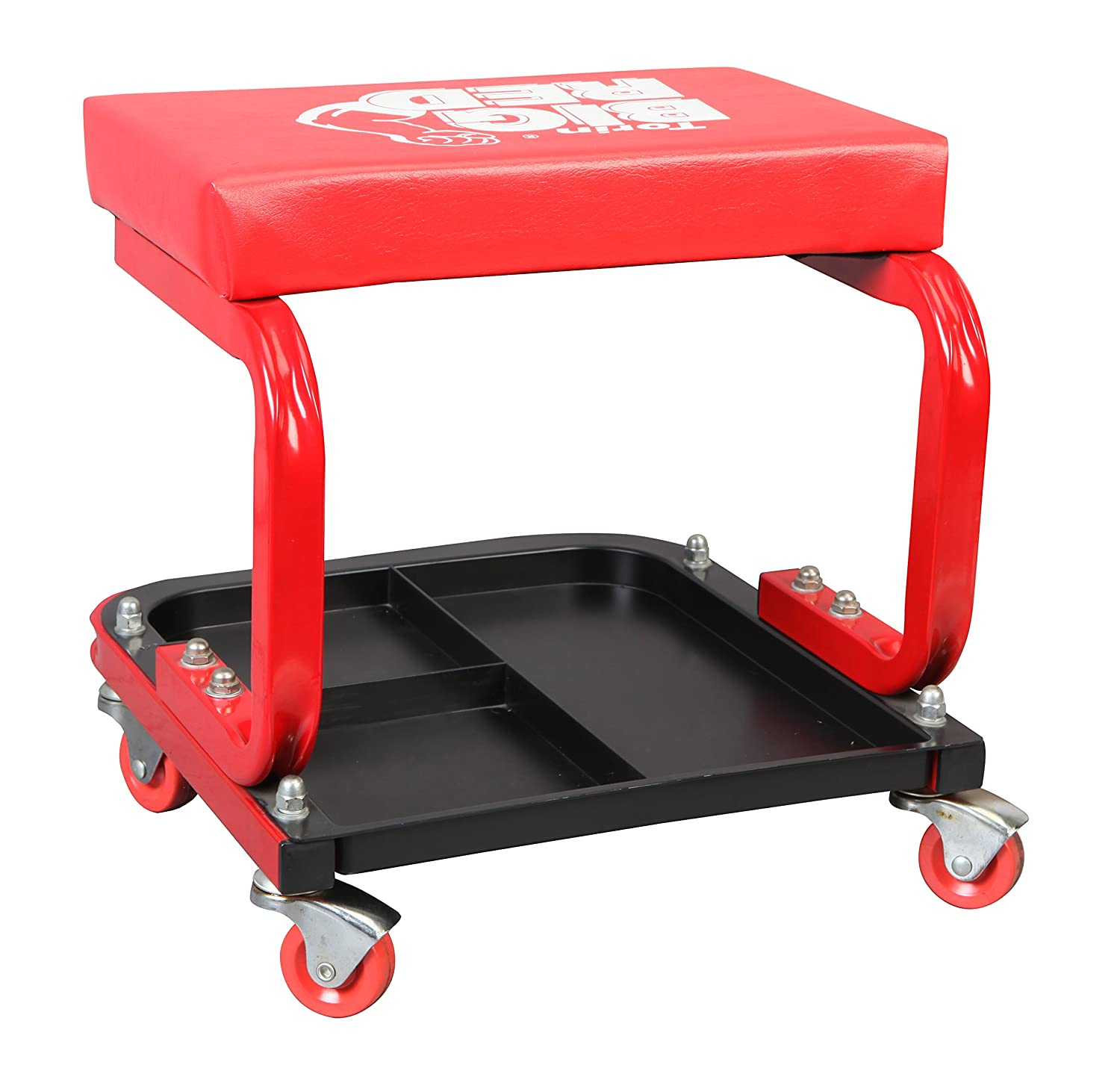 Amazon.com Torin Big Red Rolling Creeper Garage/Shop Seat Padded Mechanic Stool with Tool Tray Red Automotive  sc 1 st  Amazon.com & Amazon.com: Torin Big Red Rolling Creeper Garage/Shop Seat: Padded ... islam-shia.org
