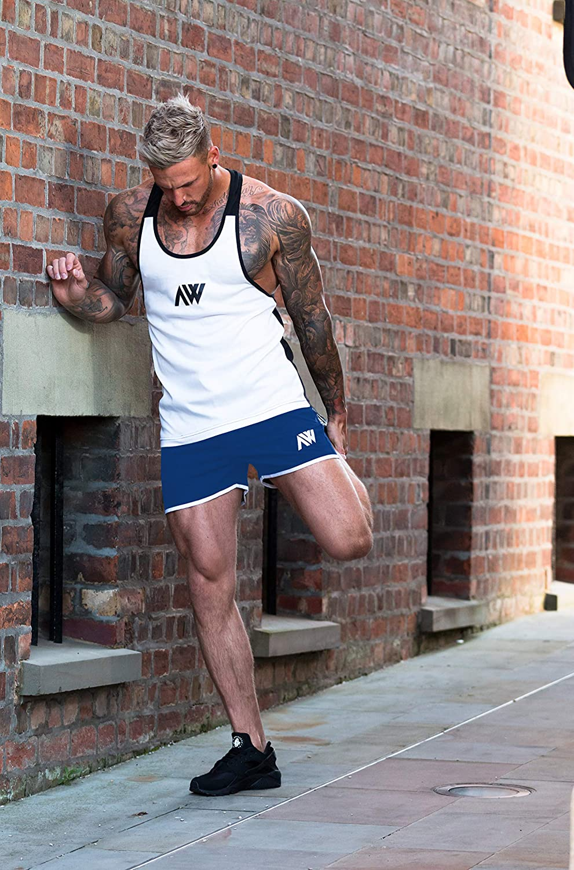 Entrenar o Nadar con Malla Interior Aspire Wear Shorts para Hombre con Tela Micro Stretch innovadora y Moderna
