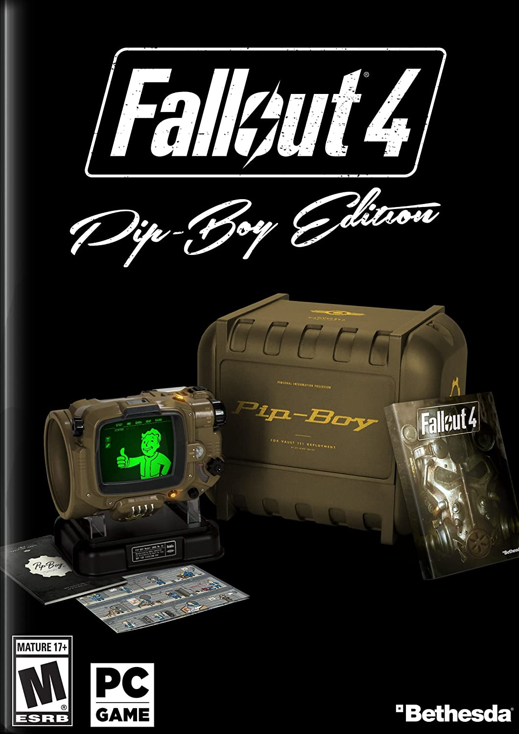 Fallout 4 - Pip-Boy Edition - PC by Bethesda: Amazon.es: Videojuegos